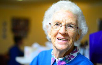 En eldre dame
